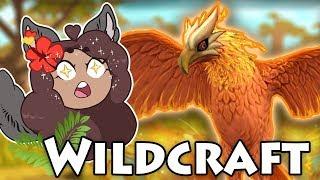 Rise of the FIERY PHOENIX!!  WildCraft  Starry Savannah!!  #21