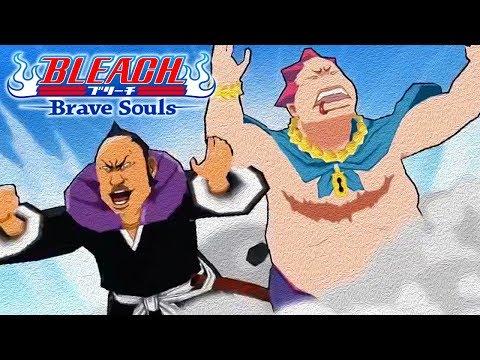 Bleach Brave Souls TT Omaeda, Toshiro, Ikkaku GAMEPLAY!