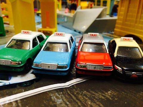 【đồ chơi xe hơi】 Tắc xi Hồng Kông + Tắc xi Ma Cao 00658 vn