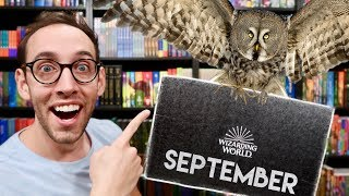 HARRY POTTER LOOT CRATE WIZARDING WORLD UNBOXING SEPTEMBER