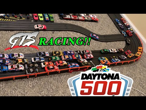 The Daytona 500… Slot Car Nascar Racing!