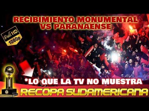 RECIBIMIENTO MONUMENTAL DE RIVER ANTE PARANAENSE - Recopa 2019