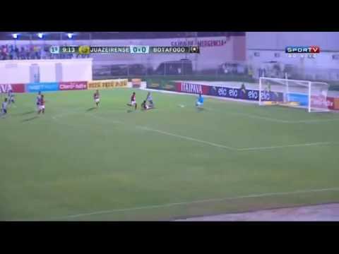 Gols:Juazeirense 1x2 Botafogo 12/05/16