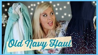 HUGE Old Navy Haul!!