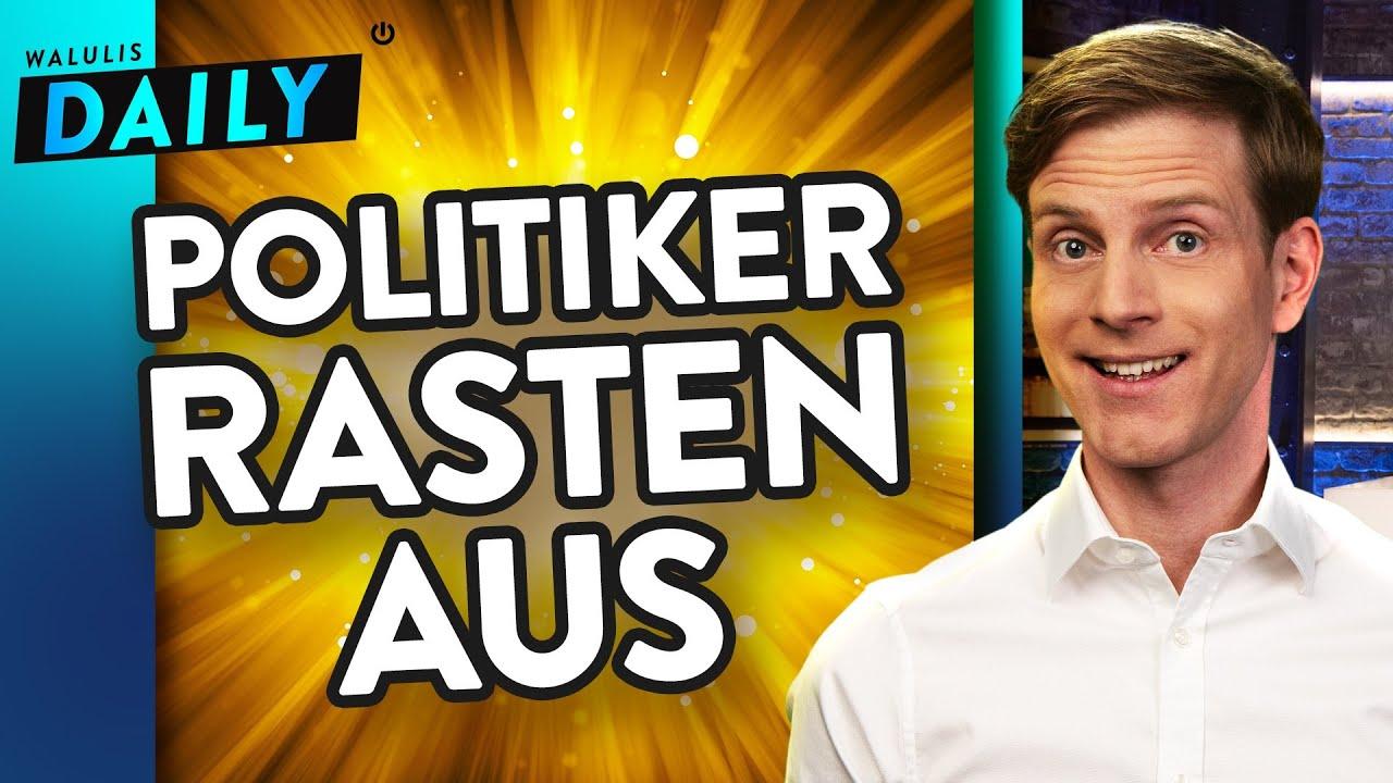 Download Schlammschlacht kurz vor der Wahl: Parteien in Panik | WALULIS DAILY