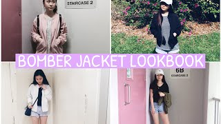 Bomber Jacket Lookbook