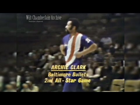 Archie Clark 8pts, 6a, 2reb, 2stl (1972 NBA ASG Full Highlights)