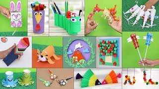 14 Bright Kids Craft Ideas !!! Crazy Cool DIY Projects
