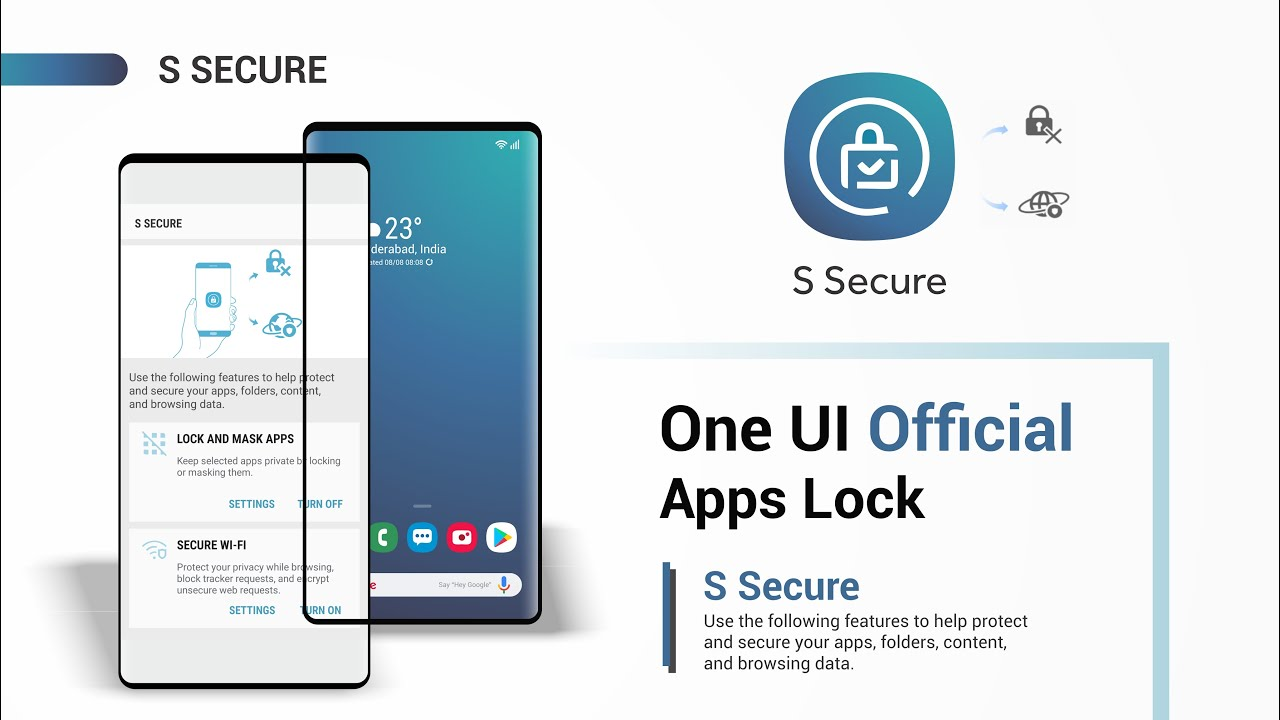 Samsung One UI Official APPS LOCK