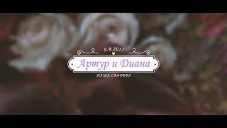 Артур и Диана 9.9.17 Обзорный ролик