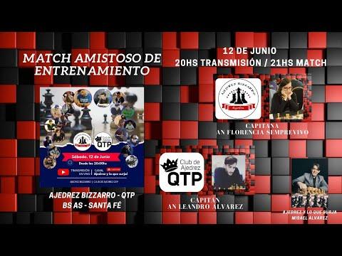 lichess.org   Match Amistoso de Entrenamiento contra QTP Rosario