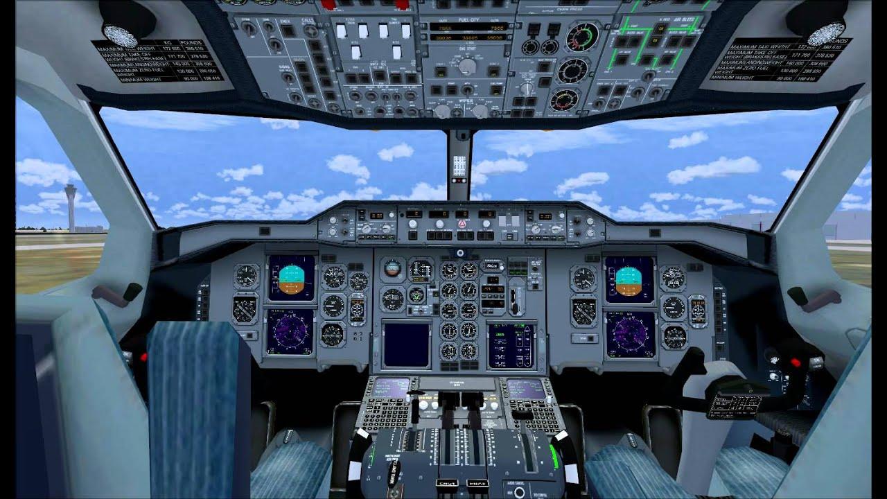 Boeing 777 Cockpit Layout