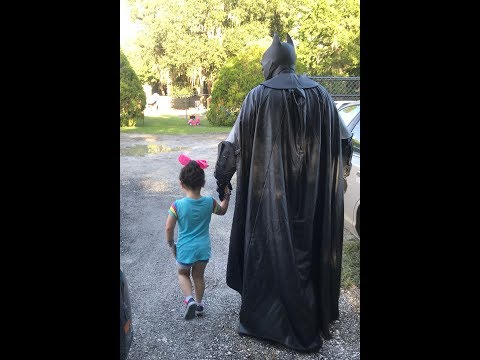 Perez - Batman Walks Bullied Toddler To School