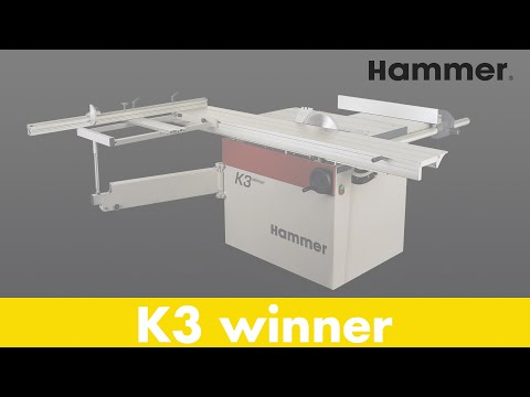 HAMMER K3 Winner Format Sliding Table Saw