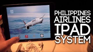 Philippine Airlines iPad Entertainment System