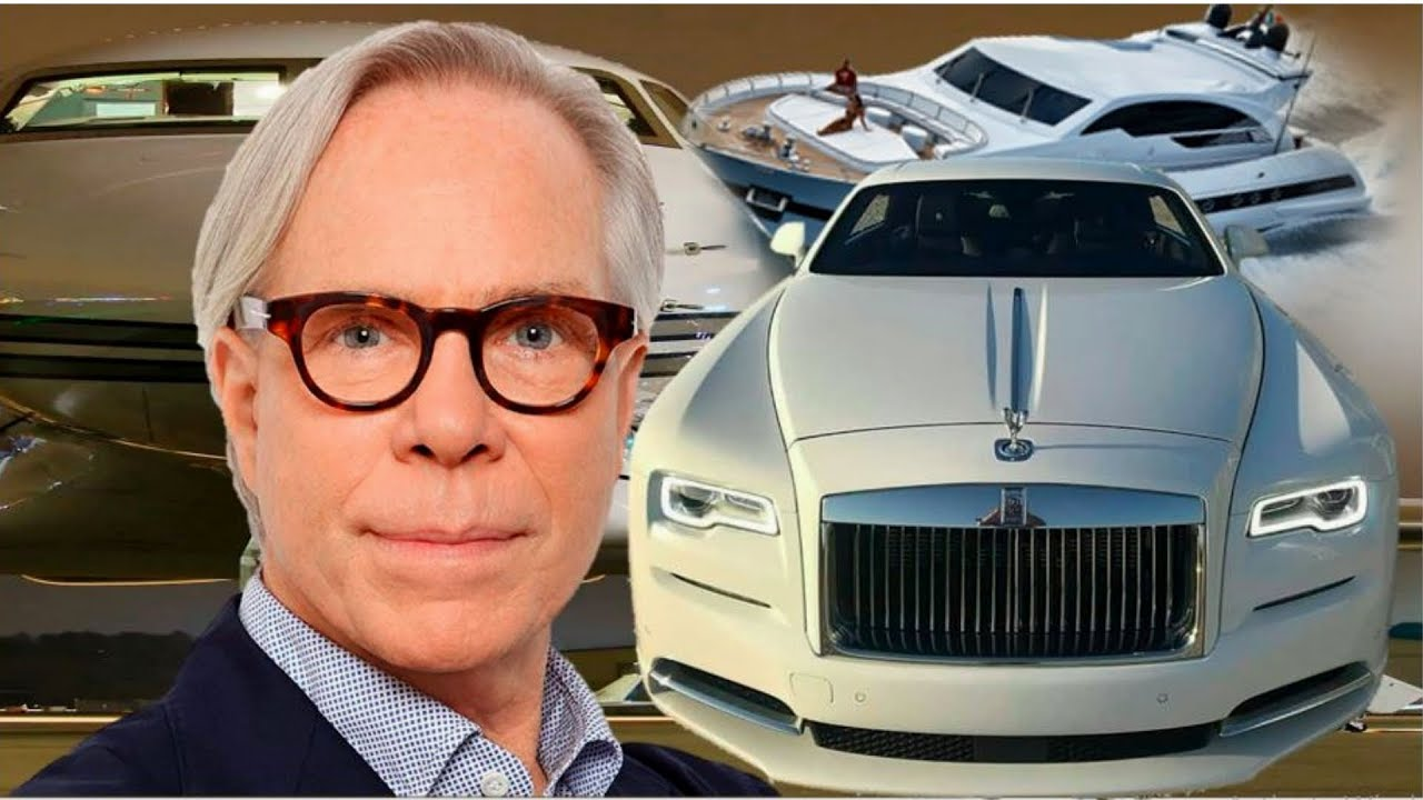 8 EXPENSIVE THINGS OWNED BY TOMMY HILFIGER.