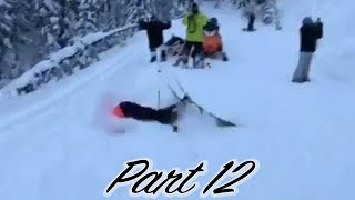 Ski Crash Compilation of the BEST Stupid & Crazy FAILS EVER MADE! PART 12