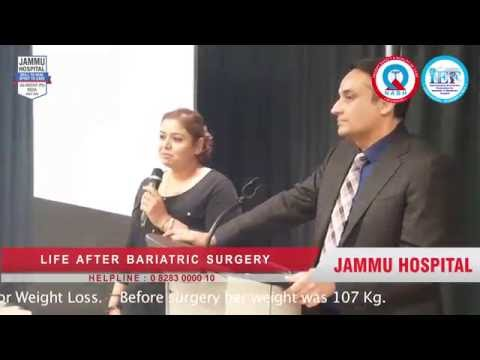 Calgary lady reduced 26 Kg in 3 months after Weight Loss Surgery at Jammu Hospital Jalandhar