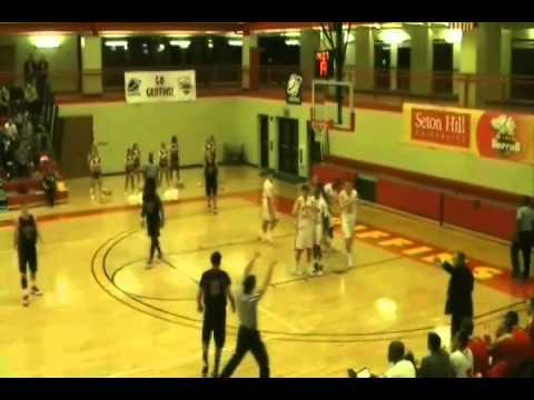 Ivan Cosovic Basketball USA SHU Power Forward Part 1