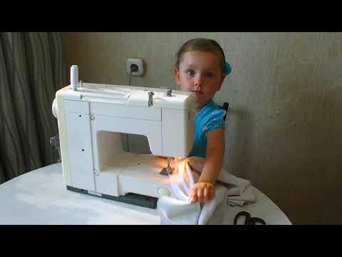 Как сшить платье своими руками быстро и без выкройки детское платье