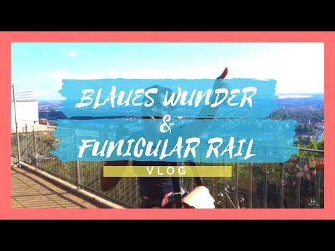 Dresden Blaues Wunder Bridge and Funicular Railway