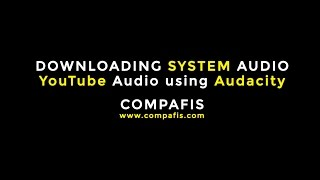 How to Download YouTube Audio & System Audio | CA