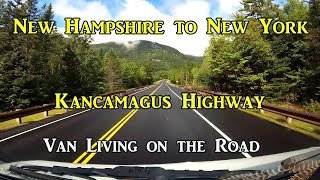 #Vanlife New Hampshire to New York -  Living on the Road
