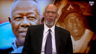 Kareem Abdul-Jabbar discusses Hank Aaron