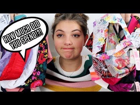 NO BUDGET UNDERWEAR SHOPPING | Huge Haul!!