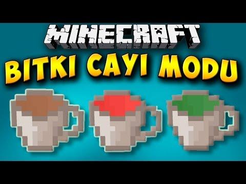 BİTKİ ÇAYI MODU!! - Minecraft Mod Tanıtımları #89