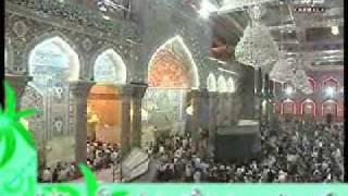 Azan e Maghrib Karbala  Muharram 2012 Karbala Nohey 2012 Shia Azan Ashraf Hussain Ghaffari