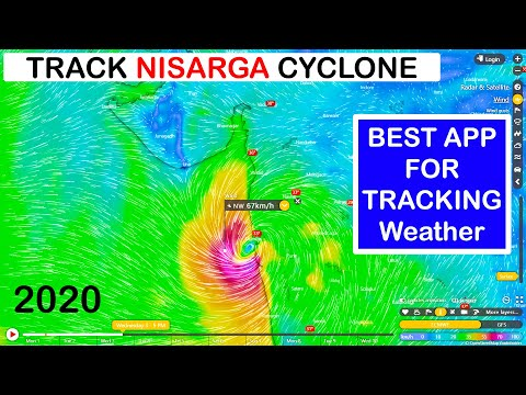 Nisarga Cyclone Live | Best Weather App | Track Cyclone | Free Weather App 2020