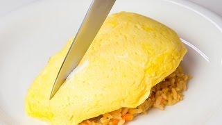ふわふわオムライスが簡単に成功する作り方 (Simple omelette technique) thumbnail