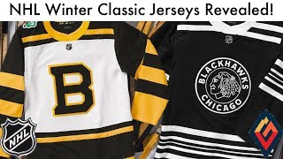 Blackhawks, Bruins Reveal Their Winter Classics! - NHL Jersey Review