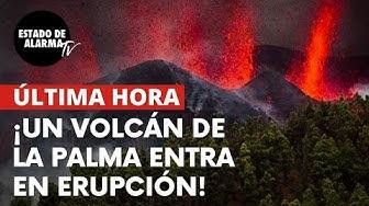 Imagen del video: ULTIMA HORA: ¡Un volcán de La Palma entra en erupción!