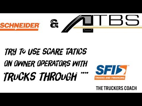 Schneider Finance , Schneider Choice Program , the new scare tactic issued  by ATBS