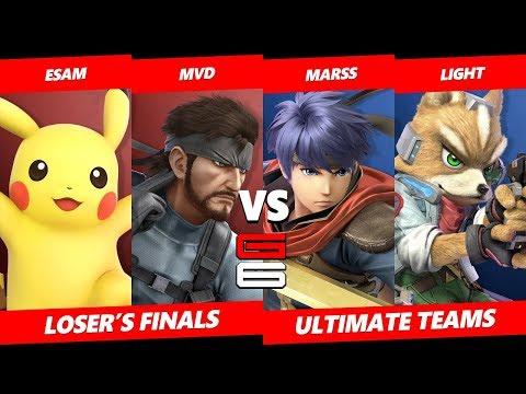 Genesis 6 SSBU Teams - ESAM & MVD VS Light & Marss - Smash Ultimate Teams LF