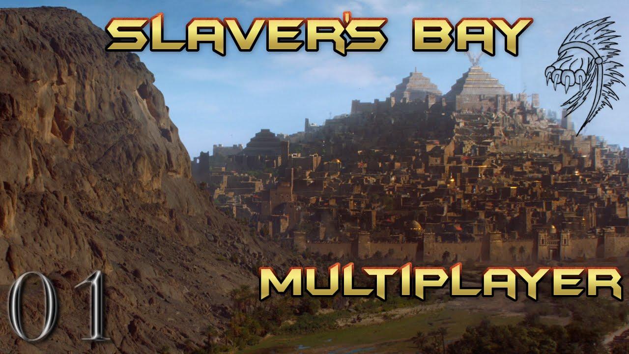 Repeat Crusader Kings 2: Slaver's Bay Multiplayer #1 with