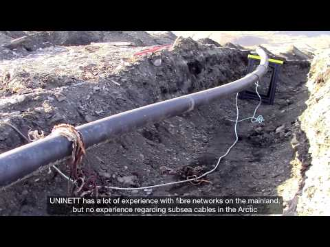 UNINETT - Optic subsea cables to Ny-Ålesund (eng sub)