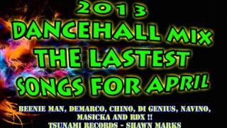 Dancehall Mix April 2013 Bad Gal Riddim And More ! PART 1