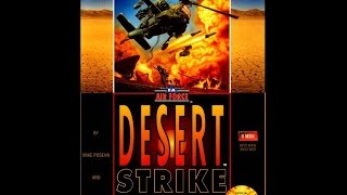 Desert Strike: Return to the Gulf Прохождение (Sega Rus)
