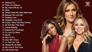 Mariah Carey, Whitney Houston , Celine Dion - Best Songs Best Of The World Divas