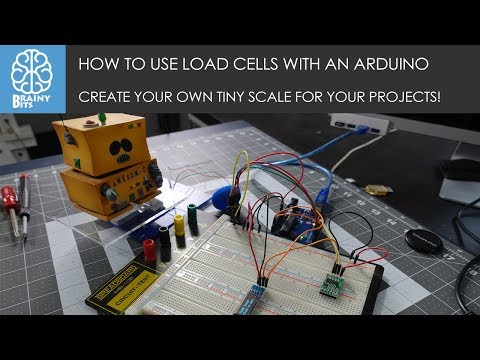 How to use a Weight Sensor / Load Cell + HX711 with an Arduino