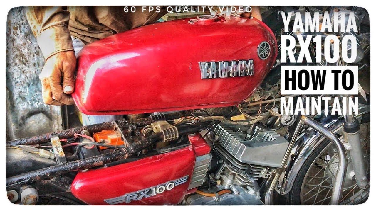 yamaha rx 100 service manual