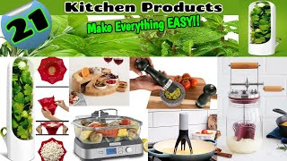 21 BEST KITCHEN GADGETS | Latest Kitchen Products from Amazon | Kitchen Tools▶️Make Everything EASY!