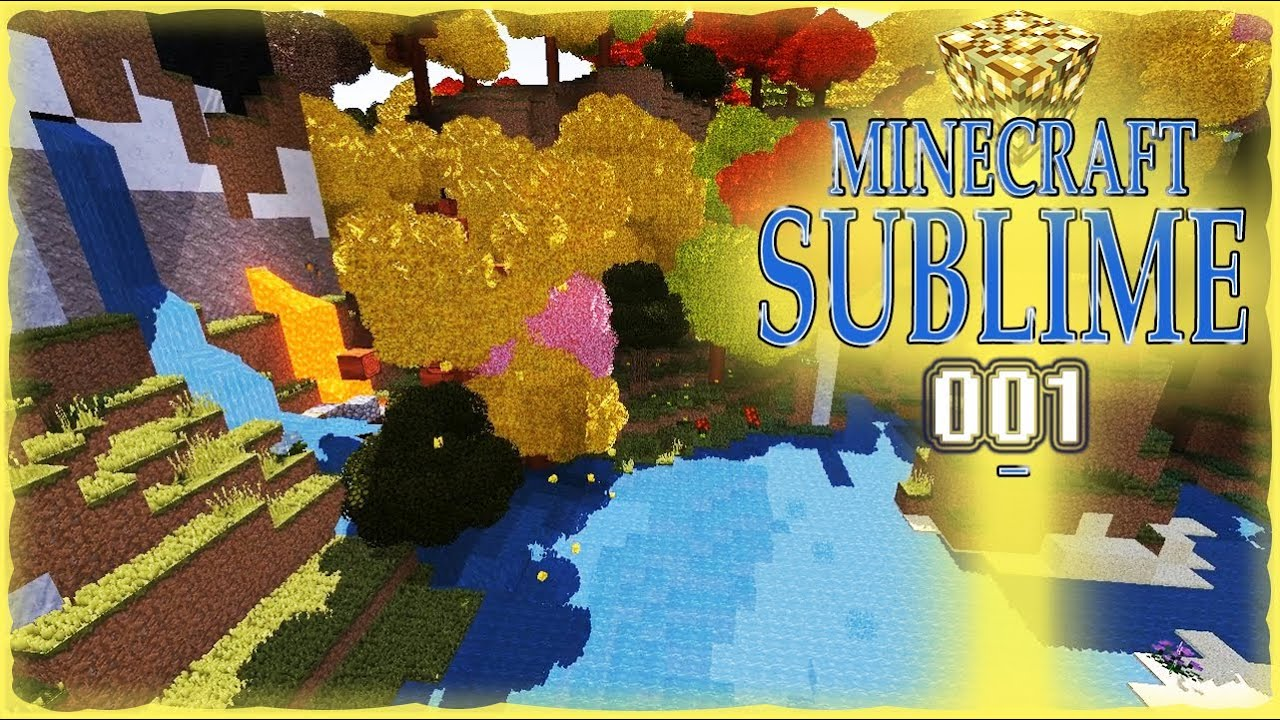 Minecraft Sublime - A Modded Minecraft Adventure - Let's