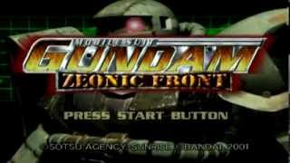 Let's Play Mobile Suit Gundam: Zeonic Front (Part 1)