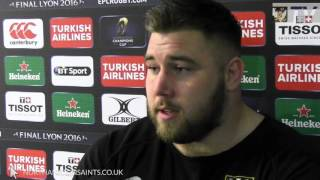 Kieran Brookes reaction to Saints victory over Glasgow | Rugby Video Highlights