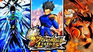 Dragon Ball Legends - ALL NEW CARD ART & NEW Saiyan Character Gameplay! (Pikkon, Gogeta, Pan & MORE)