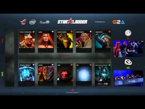 iG vs VG - Starladder XII - LAN Finals - Grand Finals - G2